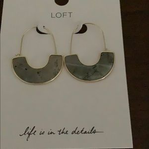 Loft Earrings NWT